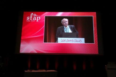 Pr Didier de Broucker, Président du Comité Scientifique du Congrès de la SFAP