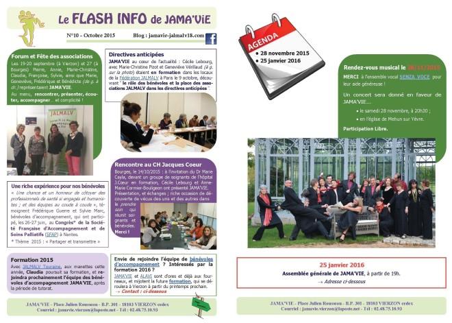 FLASH INFO OCTOBRE 2015_1et2